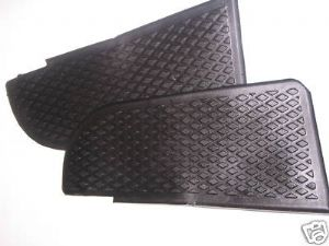 Cab door step rubber covers VW Type 2 1973>1979